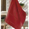 Toalha bordado rosto dohler vermelha